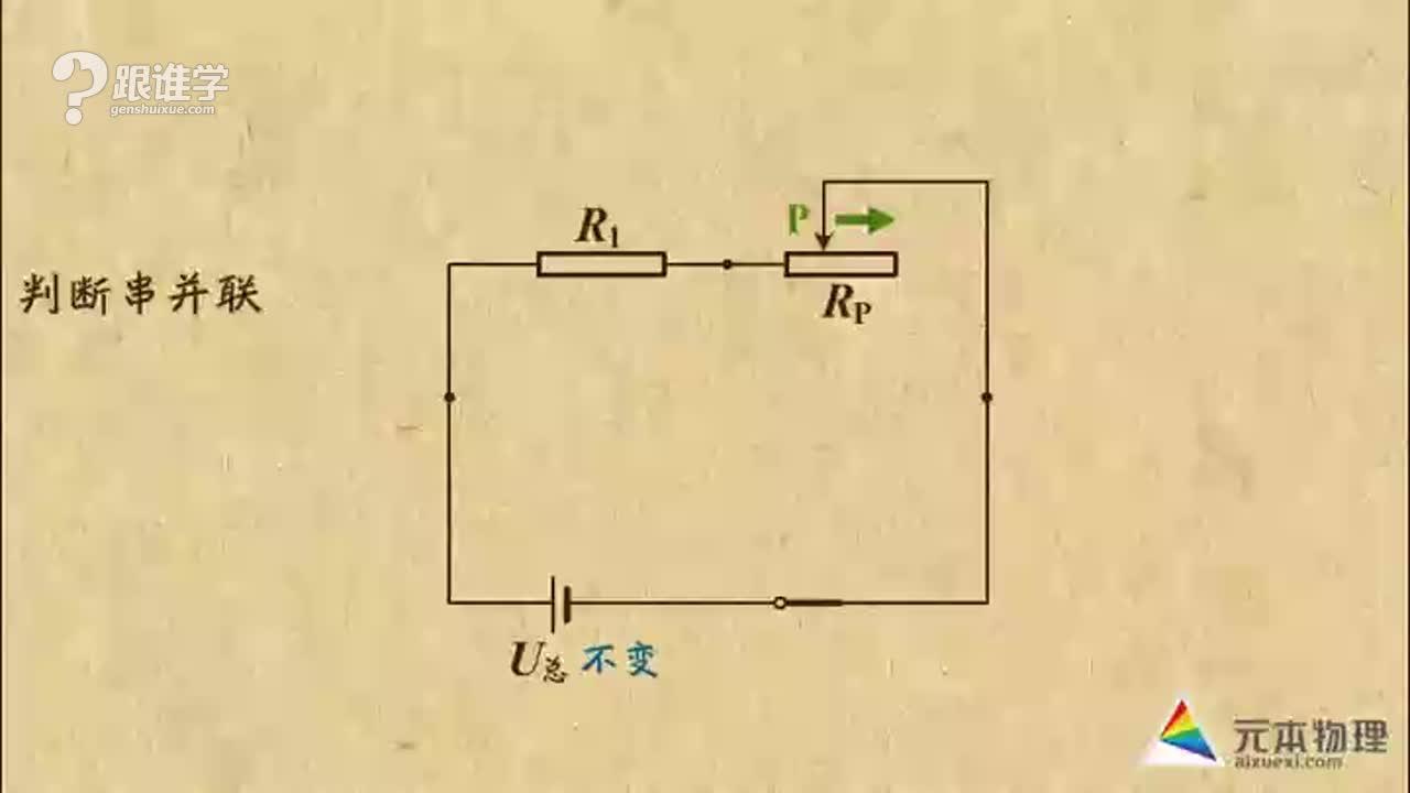 新栋力元本物理——电表示数的变化