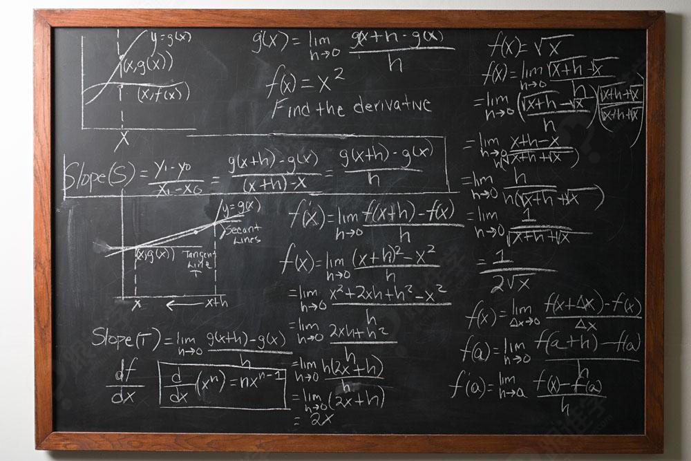 高中数学黑板板书图片图片
