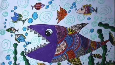 创意美术公开课_创意画图片