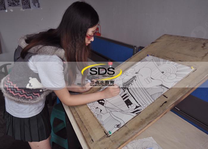 研究生考试黑白装饰画——暑期强化1班