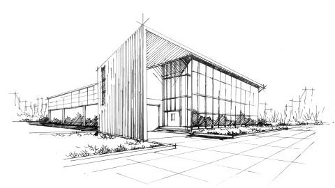 手绘基础课程——建筑,景观,规划,室内