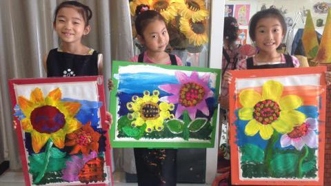 缤纷大师少儿创意美术课_创意画_兔子老师-跟谁学