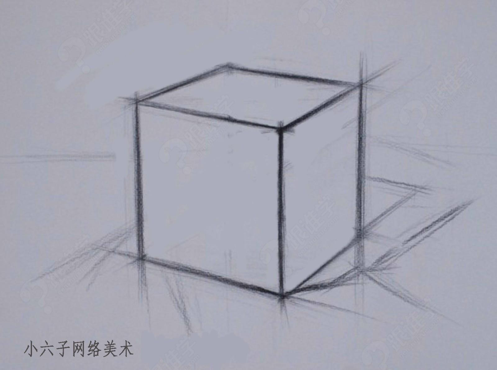 【视频】素描基础入门+风景素描
