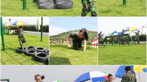 杭州千拓教育军旅夏令营-7天励志营