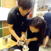 曹京坤老师 咖啡拉花教学