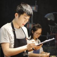 曹京坤老师 咖啡馆拉花比赛