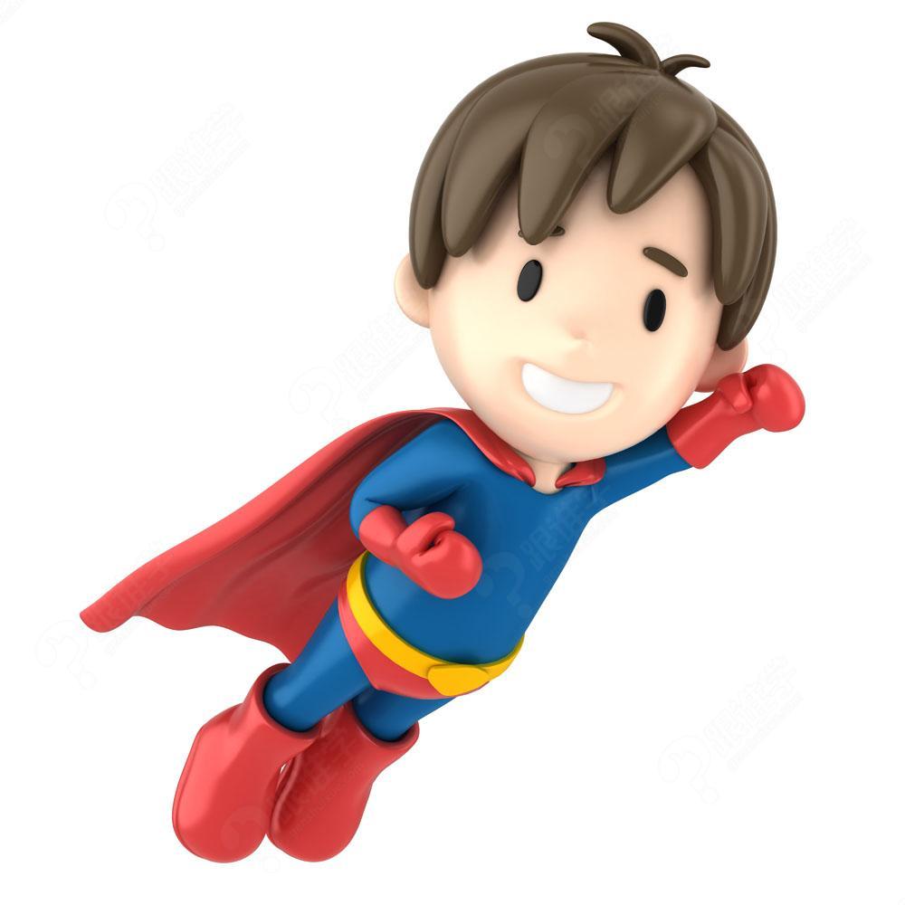 带孩子超人头像