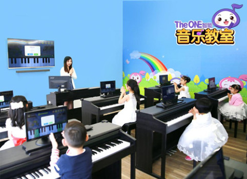 the one智能钢琴教室