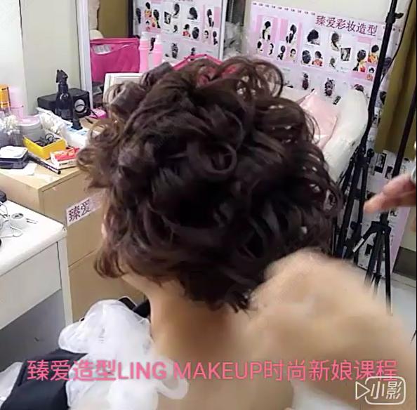 超短发时尚新娘造型实用案例图片