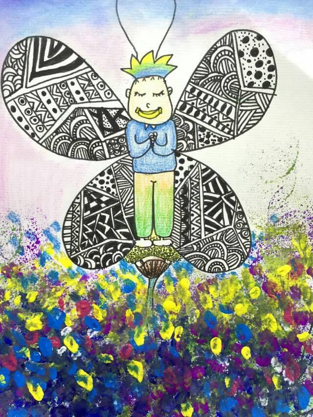 合肥课程 艺术 绘画 创意画图片