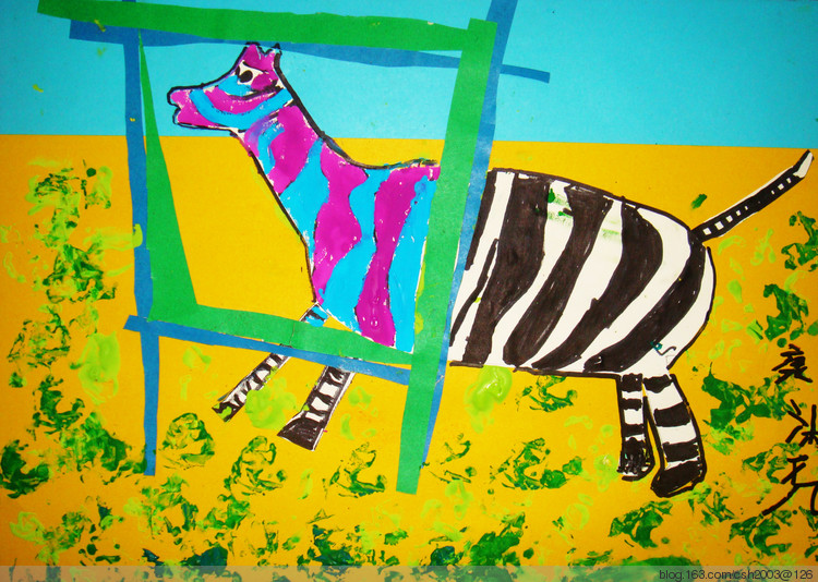 创意儿童画图片