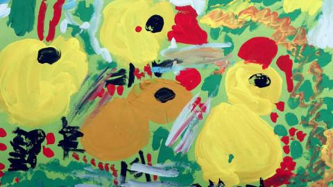 幼儿创意水粉画