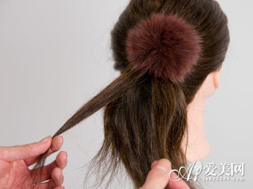 编头发花样图解编发点缀时尚发型