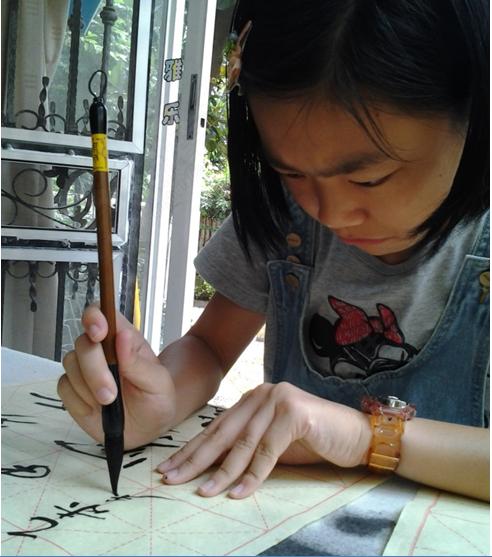 """软笔书法  书法入门""""一招""""掌握正确书写姿势 ——毛笔书法握笔,执笔"""