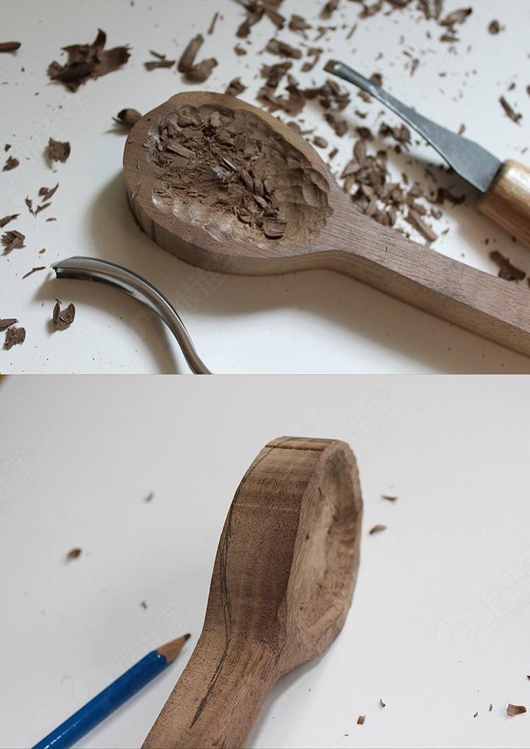忘言手作木工课程,挖把勺子送给亲爱的ta
