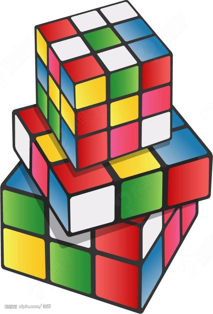 魔方直角公式图解