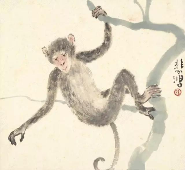 徐悲鸿的十二生肖画作-跟谁学图片