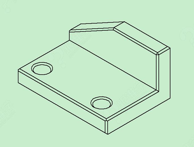 职业技能 工程机械 数控机床      由于轴测图画法比基本视图画法复杂