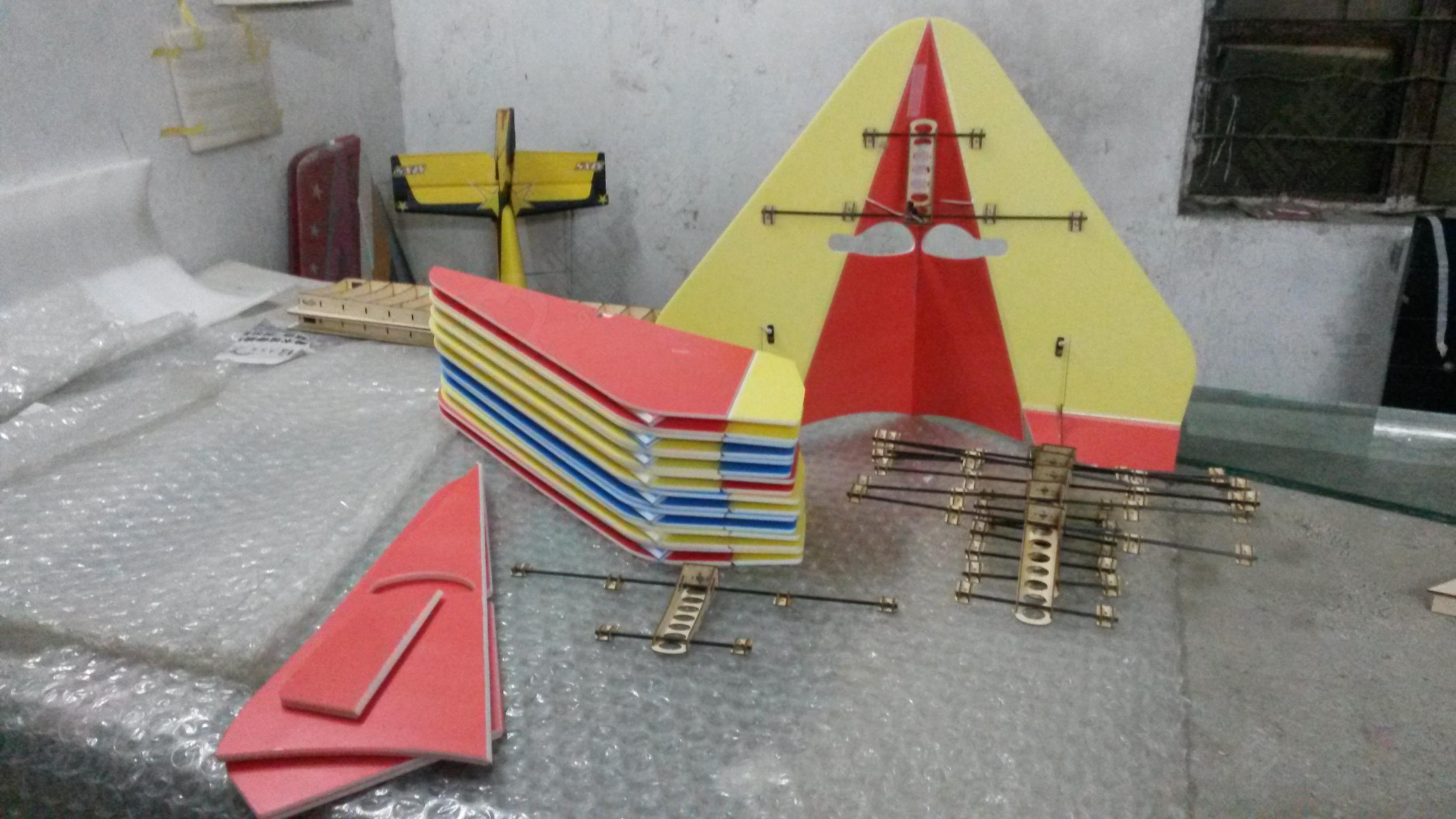 【视频】遥控三角翼飞机模型制作教程