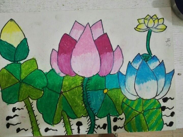 赞美祖国儿童画 图画展示