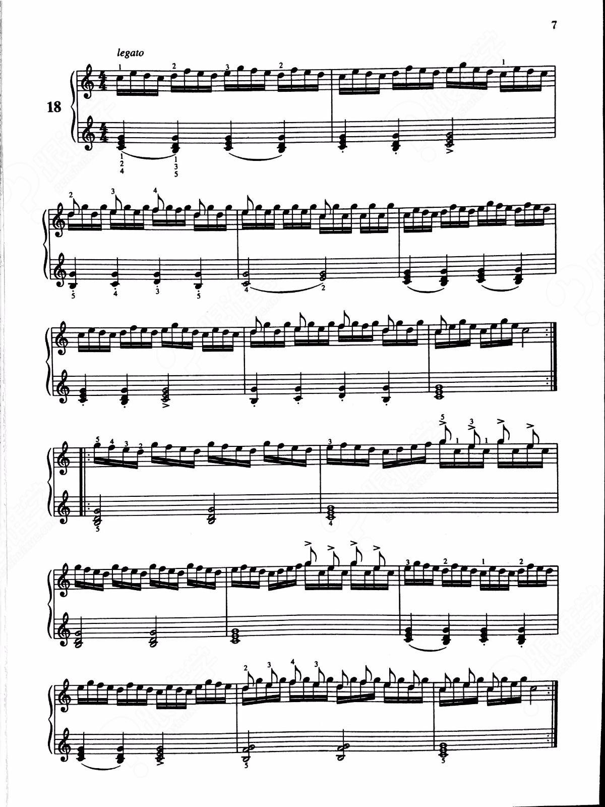 车尔尼599钢琴教程详解