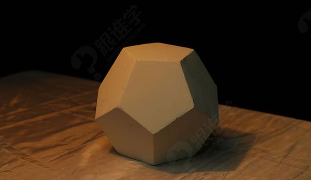 六棱柱于圆柱体的关系 石膏质感解析 圆柱体 椭圆的切法 椭圆的透视
