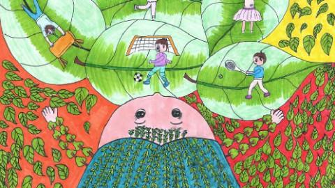 奇思妙想儿童画(90课时)图片