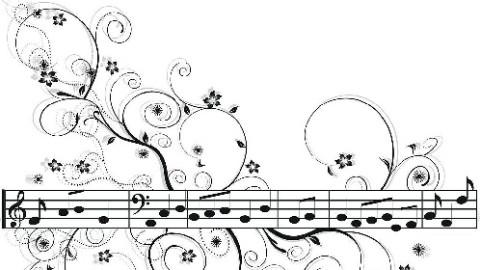 乐器 图片 手绘简单