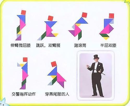 七巧板能拼出多少种图形