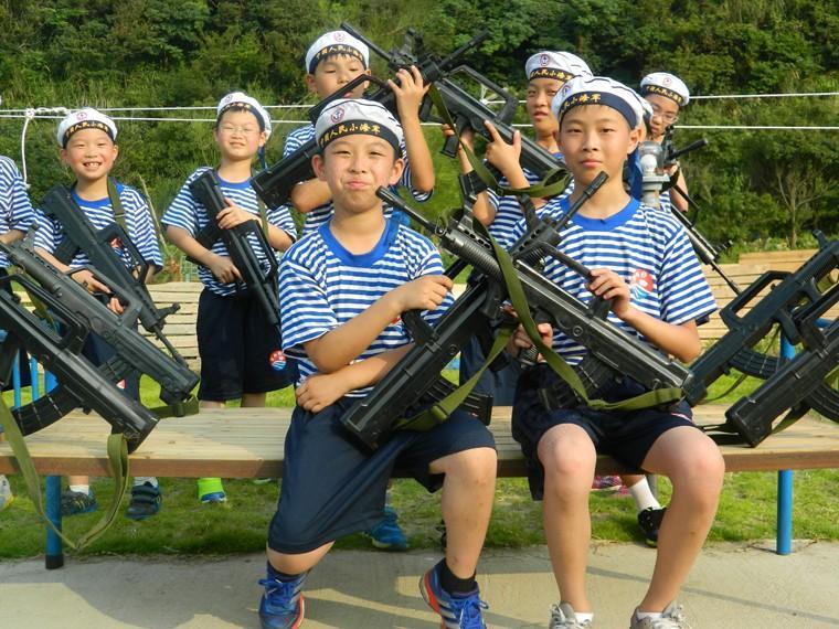 海岛奇兵海军五天夏令营(定金)