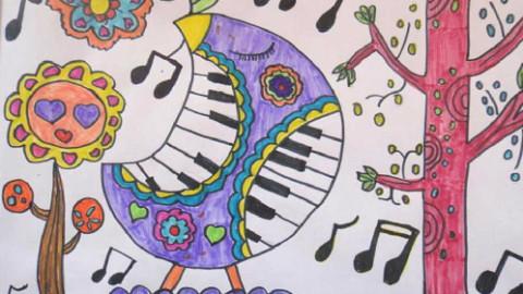 儿童创意画图片