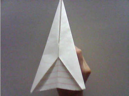 怎么折最简单的纸飞机
