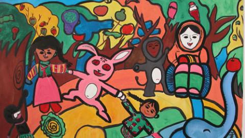 合肥课程 艺术 绘画 创意画   ¥90.图片