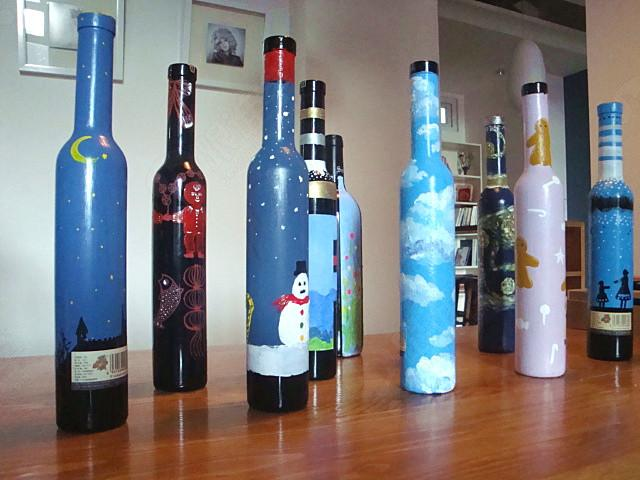 手绘diy 体验1次 杯子 布袋 酒瓶