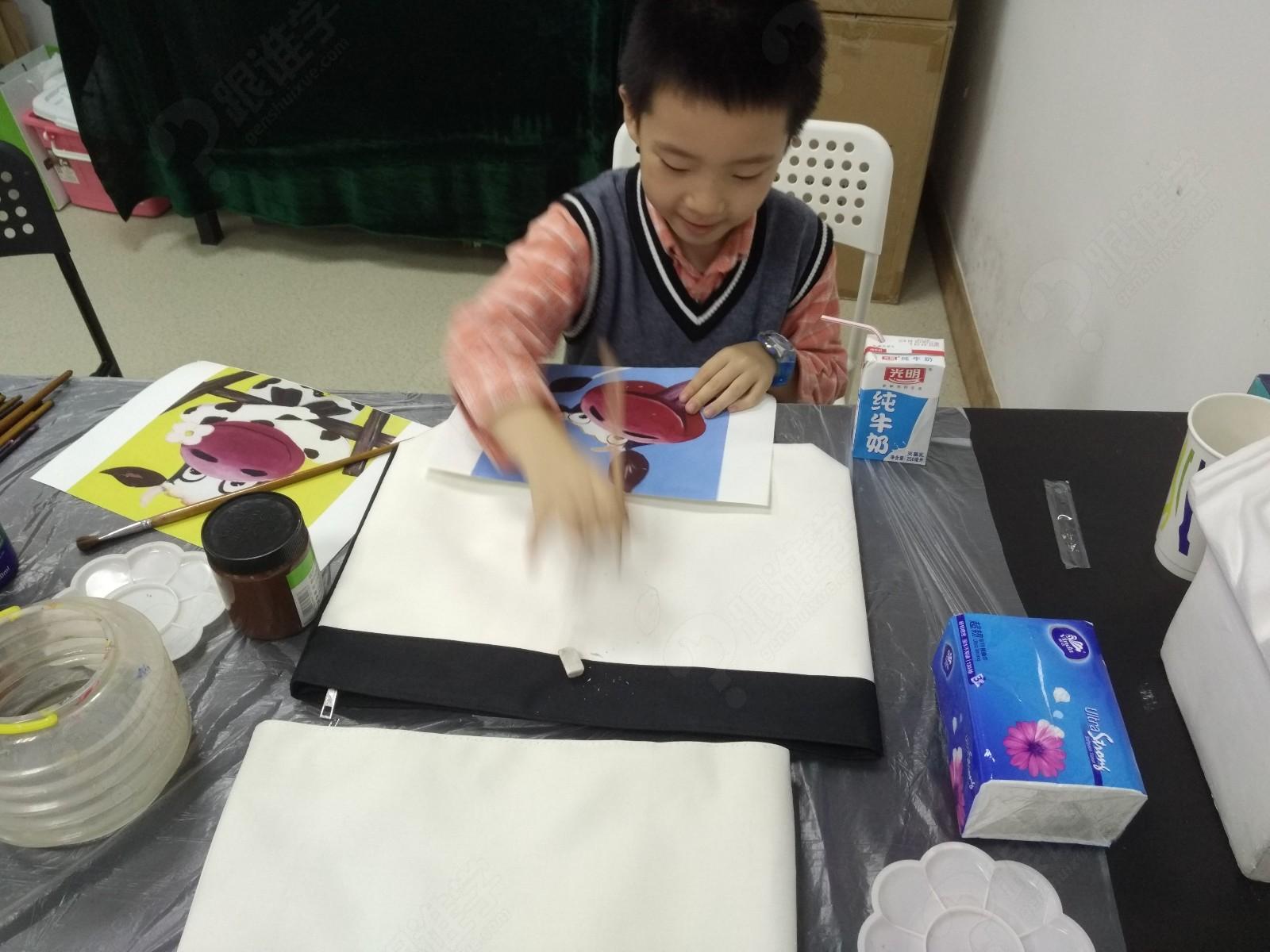 【免费】手绘diy 体验1次 杯子 布袋 酒瓶_创意画_杨