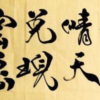 杨照珺老师 书法