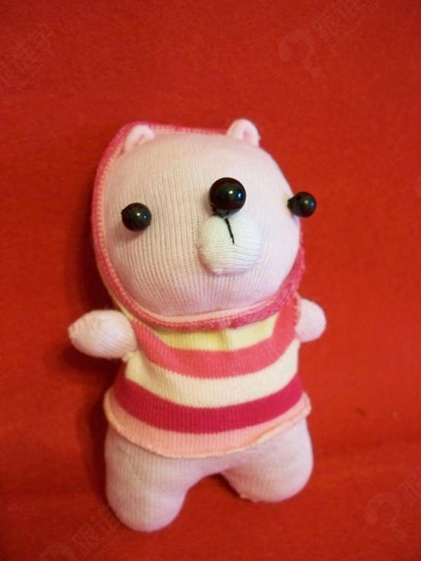 【袜子娃娃】可以换衣服的大白兔 【袜子娃娃】萌萌哒熊猫鼠标腕垫 还
