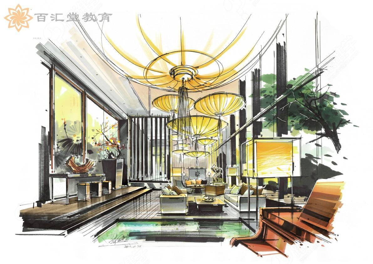 设计师必备技能之室内设计手绘