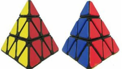 两个小公式轻松复原金字塔魔方