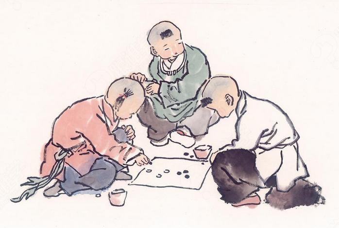 冲刺围棋图片