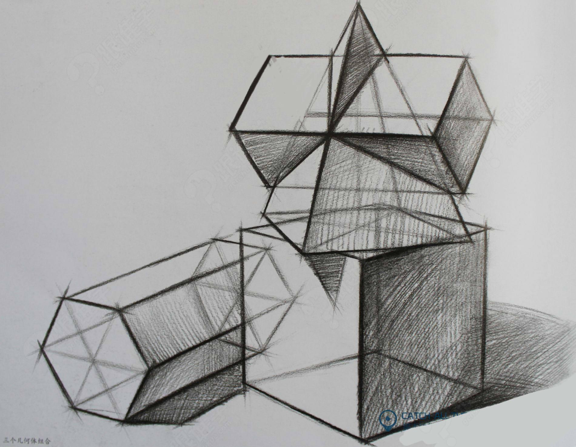 椭圆素描画法步骤图