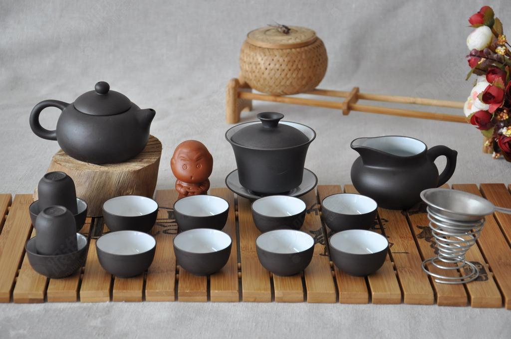 讲解茶具名称 4,讲解各茶具使用方法