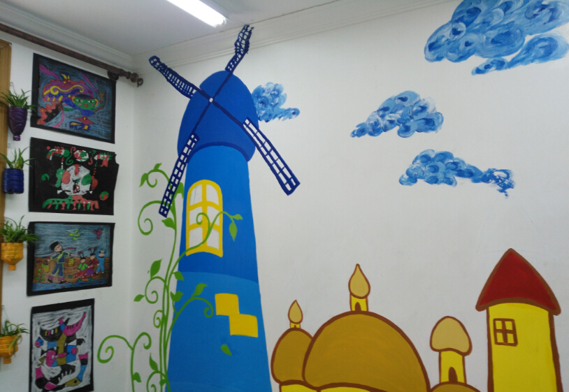 美术教室展板设计