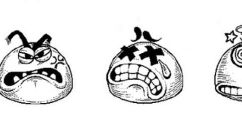 夸张搞笑的表情_简笔画_初名-跟谁学